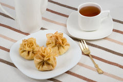 Pancake pouches Royalty Free Stock Images