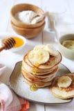 Pancake with rice milk and rice flour Royalty Free Stock Photo