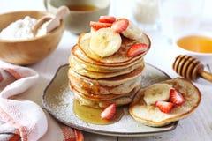 Pancake with rice milk and rice flour Royalty Free Stock Image