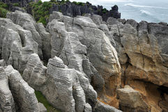 Pancake Rocks Stock Image