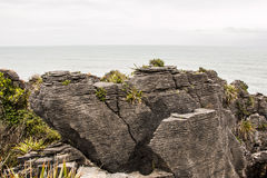 Pancake Rocks 3 Royalty Free Stock Photography