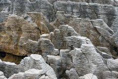 Pancake rocks, New Zealand Stock Image