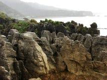 Pancake Rocks. At Punakaiki, New Zealand West Coast Stock Photo