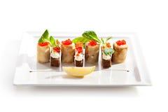 Pancake Roll Stock Image