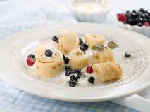 Pancake rolls Royalty Free Stock Image