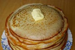 Pancake russi immagine stock