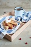 Pancake russi Fotografia Stock