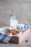 Pancake russi Fotografie Stock Libere da Diritti
