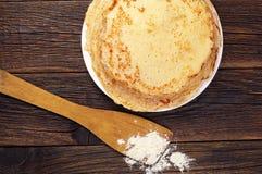 Pancake saporiti Immagini Stock