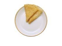 Pancake schiumosi Fotografia Stock