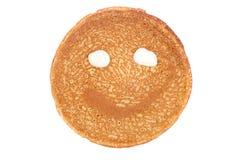 Pancake smile Royalty Free Stock Image