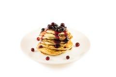 Pancake spessi Immagini Stock Libere da Diritti