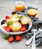 Pancake squisiti immagini stock libere da diritti