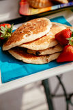 Pancake squisiti Immagine Stock