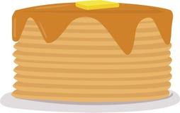 Pancake Stack Stock Photo