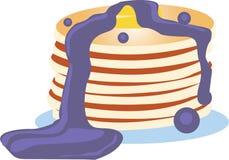Pancake Stack Royalty Free Stock Images