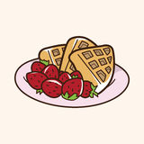 Pancake theme elements vector,eps Stock Images