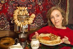 Pancake week Royalty Free Stock Photo