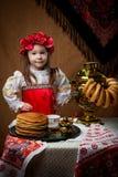 Pancake week. Spring holiday. stock photo