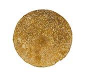 Pancake on the white background Royalty Free Stock Photo