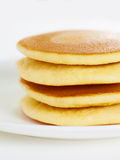 Pancake on white a Stock Images