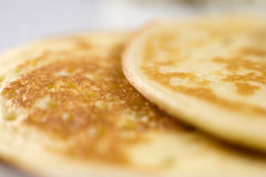 Pancakes. Photo of pancakes on a plate Royalty Free Stock Photography