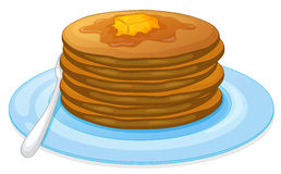 Pancakes Royalty Free Stock Photos