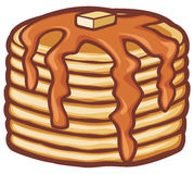 Pancakes vector illustration