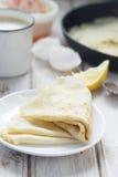 Pancakes Royalty Free Stock Photo