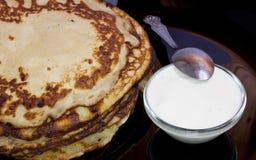 Pancakes . Royalty Free Stock Photography