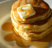 pancakes Foto de Stock Royalty Free
