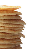 Pancakes. A big stack of pancakes Stock Images