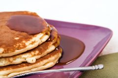 Pancakes. Stack of pancakes stock photo