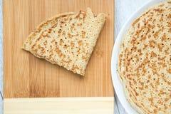 pancakes Foto de Stock Royalty Free