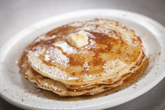 pancakes Fotos de Stock Royalty Free