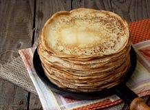 pancakes Imagem de Stock Royalty Free