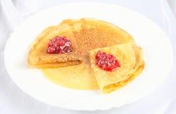 pancakes Fotografia de Stock