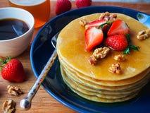 pancakes Fotos de Stock