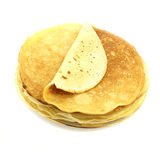 Pancakes. Pile of pancakes on the plate Stock Photography