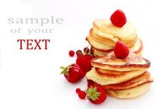 Pancakes  background Royalty Free Stock Image