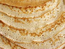 Pancakes background Stock Images