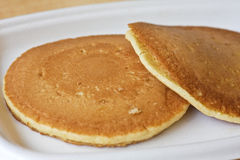 Pancakes for Breakfast Royalty Free Stock Photography