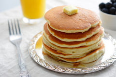 Pancakes stock photos