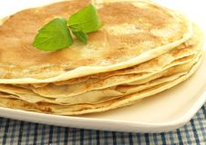 Pancakes, close up Stock Images