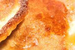 Pancakes close-up Royalty Free Stock Photo