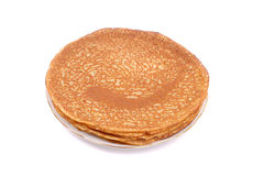 Pancakes closeup Royalty Free Stock Photography