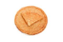 Pancakes closeup Royalty Free Stock Image