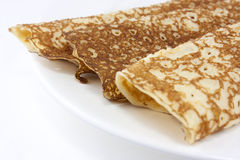 Pancakes or crepes Stock Image