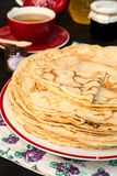 Pancakes - Crepes Stock Image