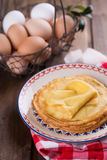 Pancakes or crepes Royalty Free Stock Photo